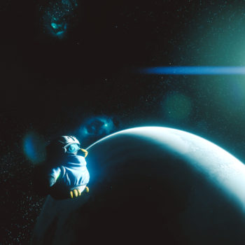 It´s too cold in space as a penguin