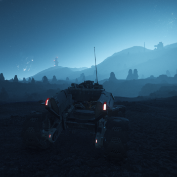 Alone in the Rock Forest