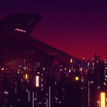 The night over Lorville