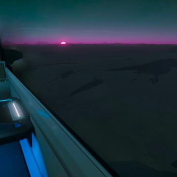 Sunset on Clio