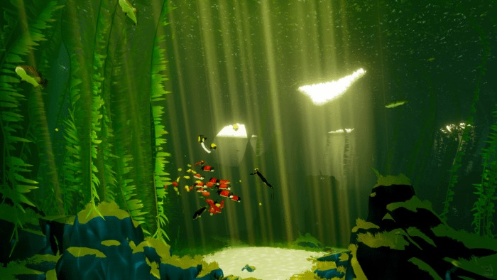 ABZÛ: Reaching Out
