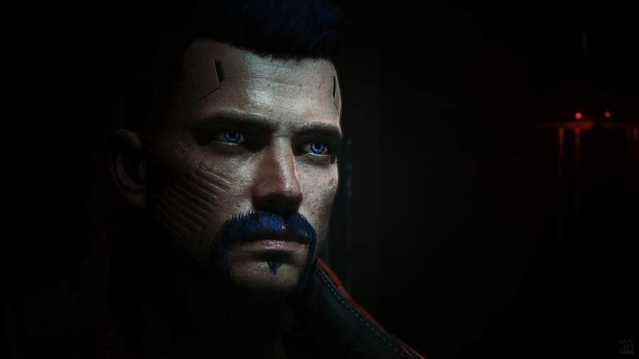 Cyberpunk 2077: Self Portrait