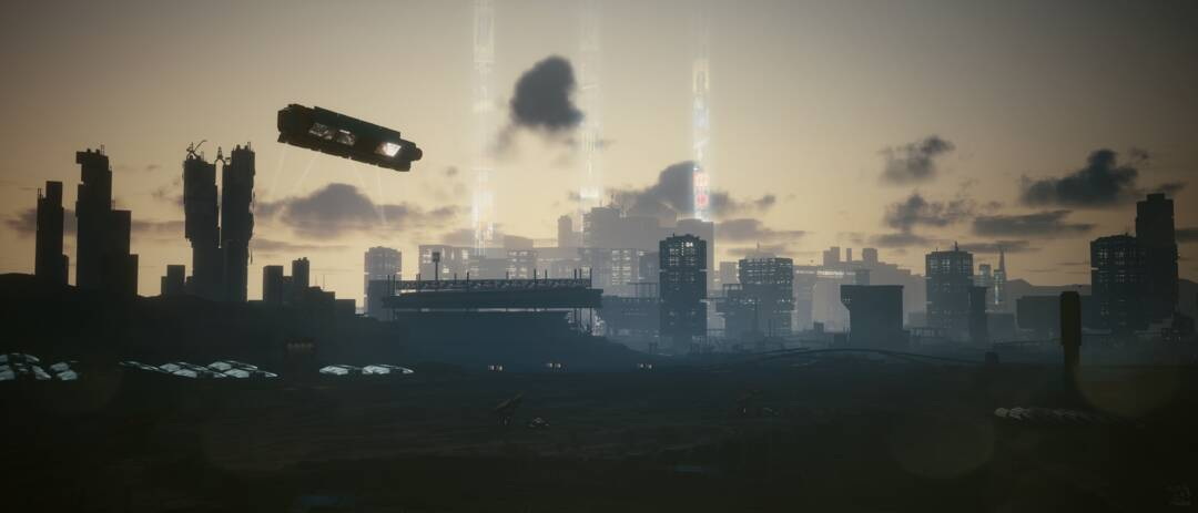 Cyberpunk 2077: View from the Badlands