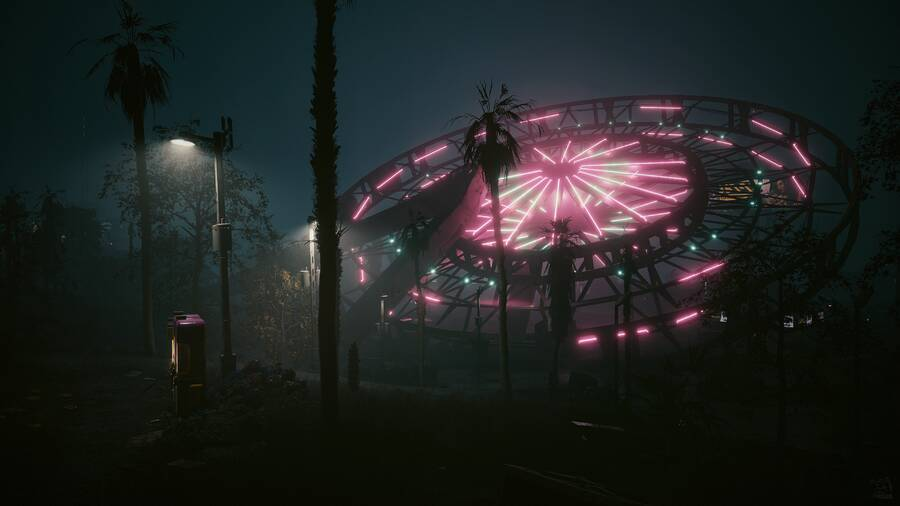 Cyberpunk 2077: Ferris Wheel Camp