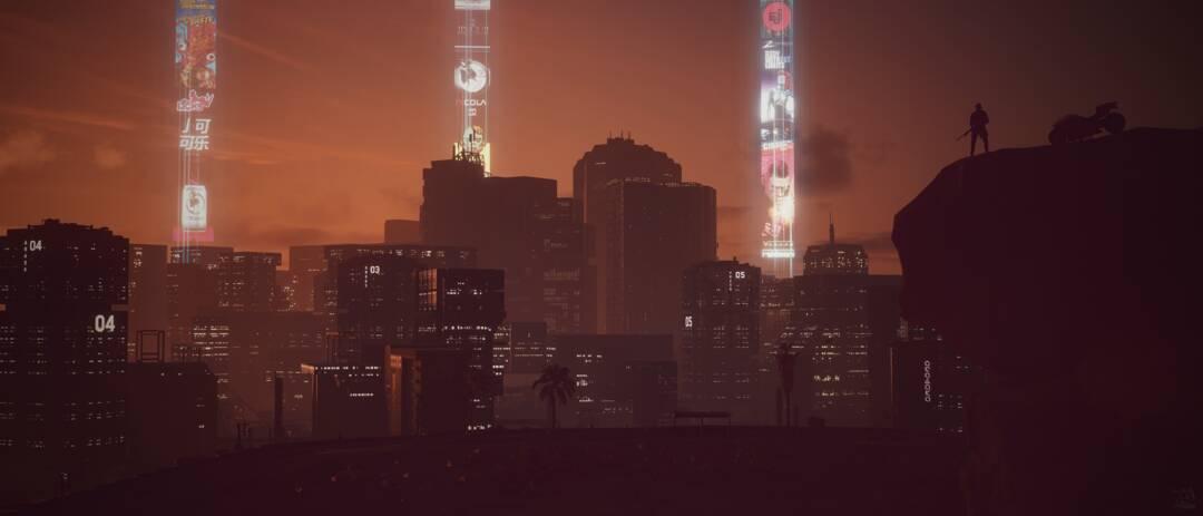 Cyberpunk 2077: Night City Overlook