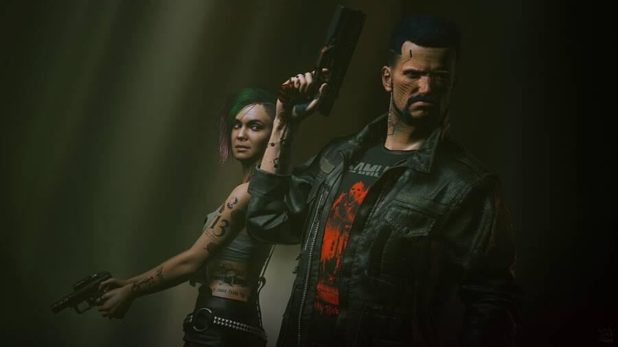 Cyberpunk 2077: V and Judy