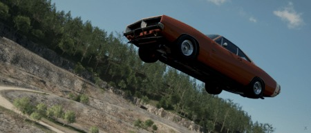 Forza Horizon 4: Practicing the Styx River Jump