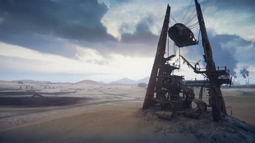 Mad Max: Plane Fort