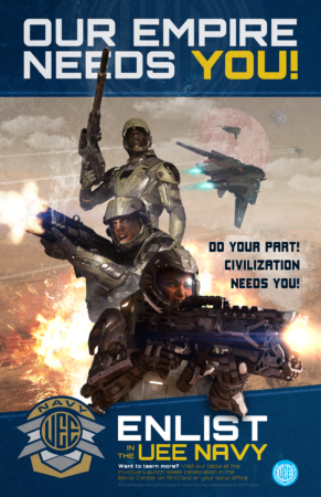 2950 Invictus Week UEE Navy Recruitment Poster