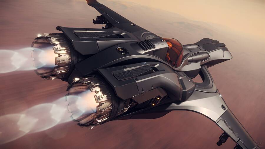 Star Citizen: P-72 Archimedes Emerald