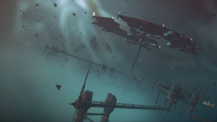 """Star Citizen: Approaching """"Wide Forest Station"""""""