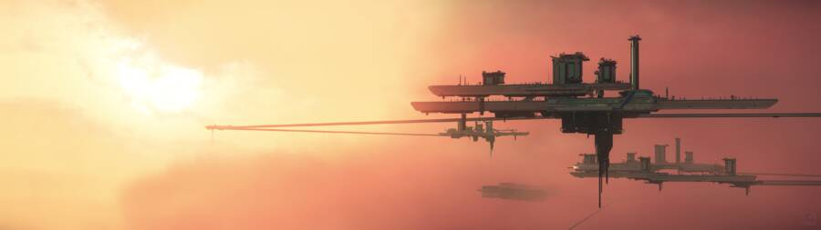 Star Citizen: Orison sunset 1
