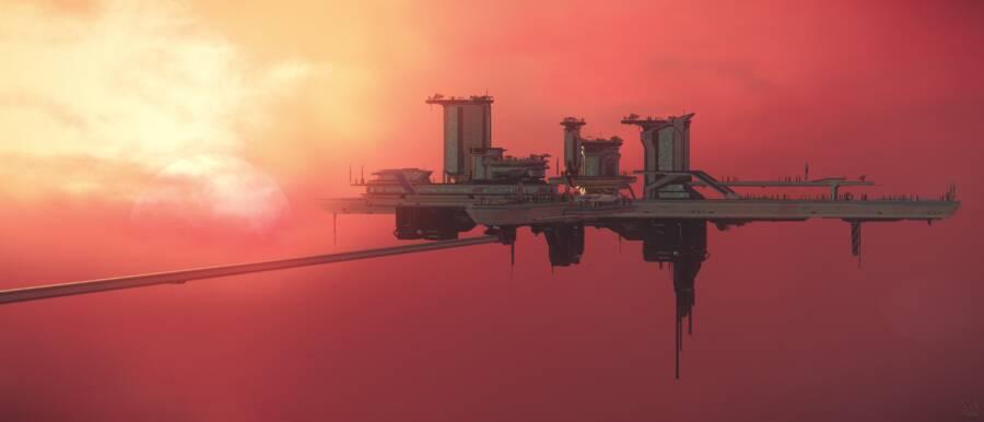 Star Citizen: Orison sunset 2