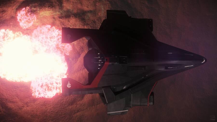Star Citizen: A2 Bombing