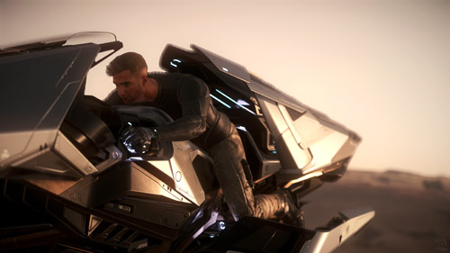 Star Citizen: Sometimes you gotta feel the wind in your hair