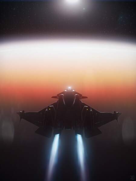 Star Citizen: Gladius Over Hurston