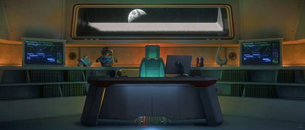 Star Citizen: Step Into My Office