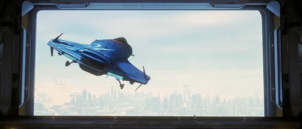 Star Citizen: Maiden Flight of the 135c