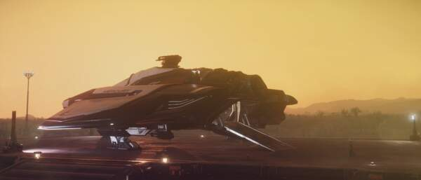Star Citizen: MSR on Hurston