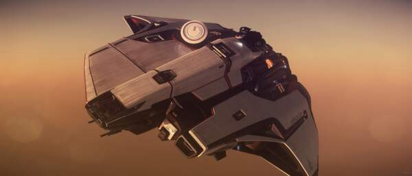 Star Citizen: Mercury Star Runner over Hurston