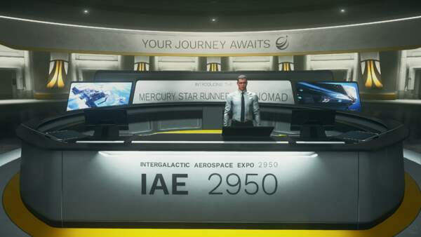 Star Citizen: IAE 2950 Day 1: Lobby