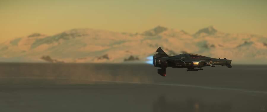 Star Citizen: IAE 2950 Day 5: Racing Across a Frozen Lake