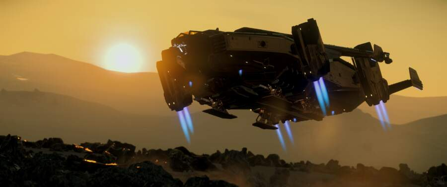 Star Citizen: Valkyrie Taking Off