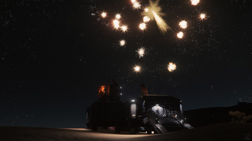 Star Citizen: Fireworks