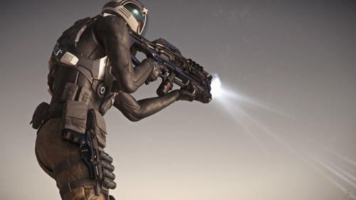 Star Citizen: Voyager Weaponry