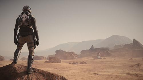 Star Citizen: Surveying Surroundings