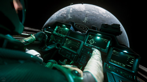 Star Citizen: Eclipse Cockpit