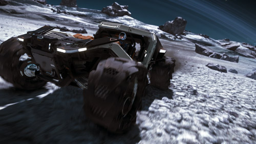 Star Citizen: Cruising Around Yela