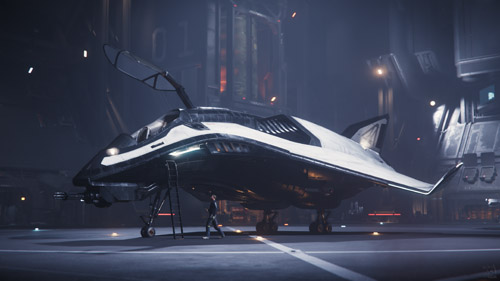 Star Citizen: Avenger at Lorville