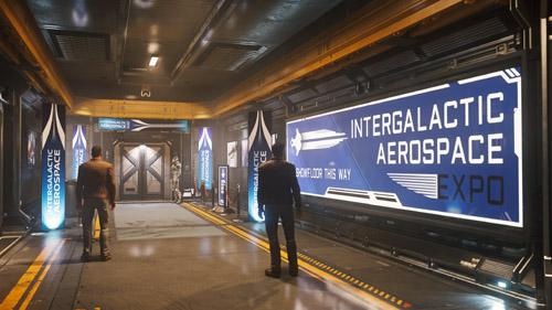 Star Citizen: Intergalactic Arospace Expo 2948 - Origin