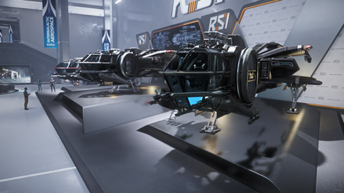 Star Citizen: Intergalactic Arospace Expo 2948 - RSI