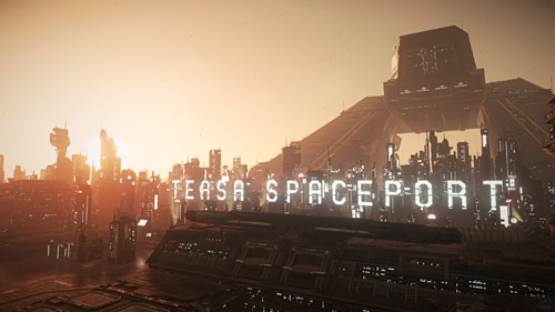 Star Citizen: Teasa Spaceport