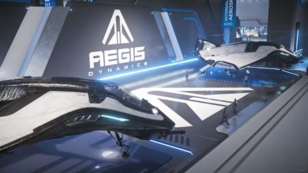 Star Citizen: Intergalactic Arospace Expo 2948 - Aegis