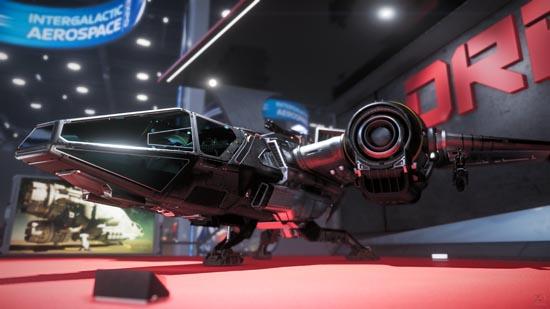 Star Citizen: Intergalactic Arospace Expo 2948 - Drake