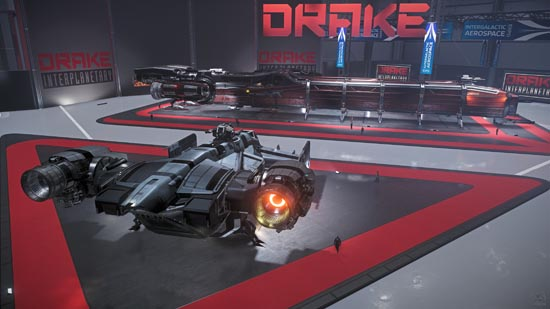 Star Citizen: Intergalactic Arospace Expo 2948 - Drake