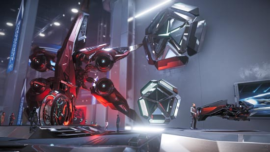 Star Citizen: Intergalactic Arospace Expo 2948 - Exotics