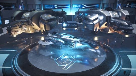 Star Citizen: Intergalactic Arospace Expo 2948 - MISC