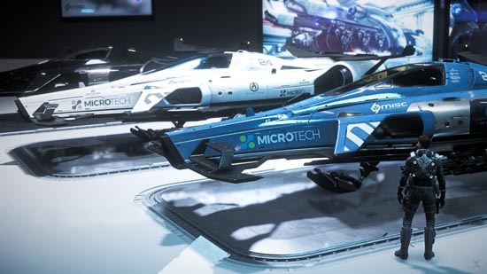 Star Citizen: Intergalactic Arospace Expo 2948 - MISC