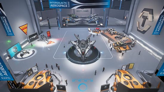 Star Citizen: Intergalactic Arospace Expo 2948 - Spotlight