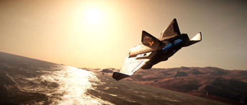 Star Citizen: Avenger Over Water