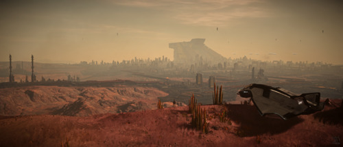 Star Citizen: Lorville Overlook