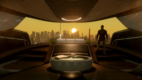 Star Citizen: View from the 600i Bedroom
