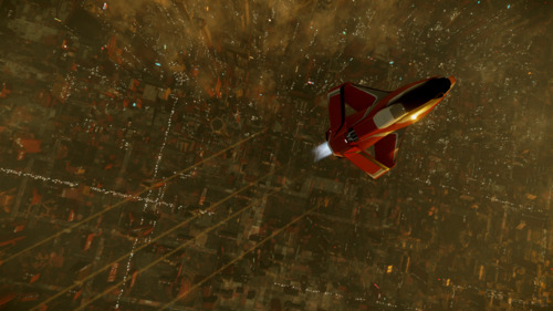 Star Citizen: Skimming over ArcCorp