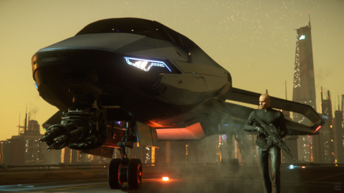 Star Citizen: For the stylish hitman