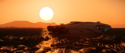 Star Citizen: Seafaring Sunrise