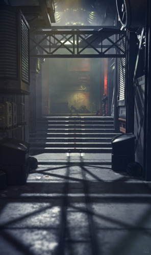 Star Citizen: Area18 Back Alley